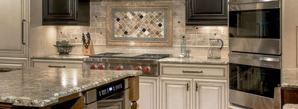 counter tops and backsplash
