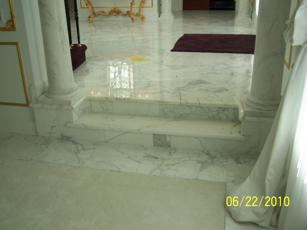 marble floor installation-South Jersey