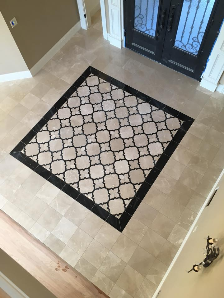 Beautiful Foyer Floor